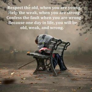 Old Weak Wrong