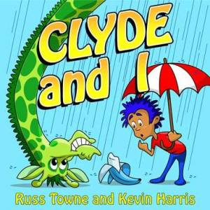 Clyde and I CD Cover Art by Josh McGill