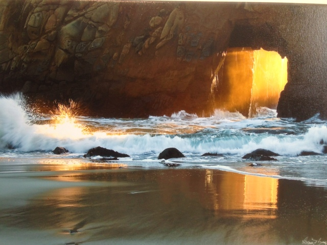 Big Sur beach photo