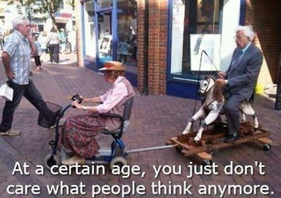 Old Age Not Caring 1897680_310985529056283_1732796503_n