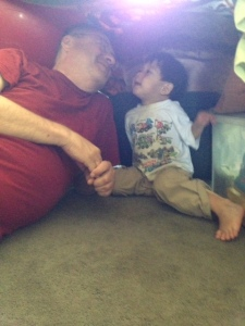 Thomas and Papa in Blanket Fort securedownload