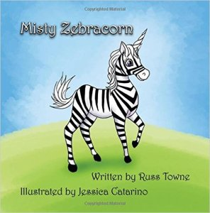 Misty Zebracorn Cover Illustration