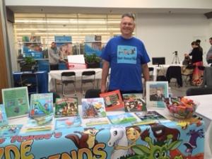 My Books &Me at teh Parenting Resources FairCloseup