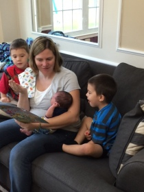 Kristi Reading to the 3 Boys IMG_0252